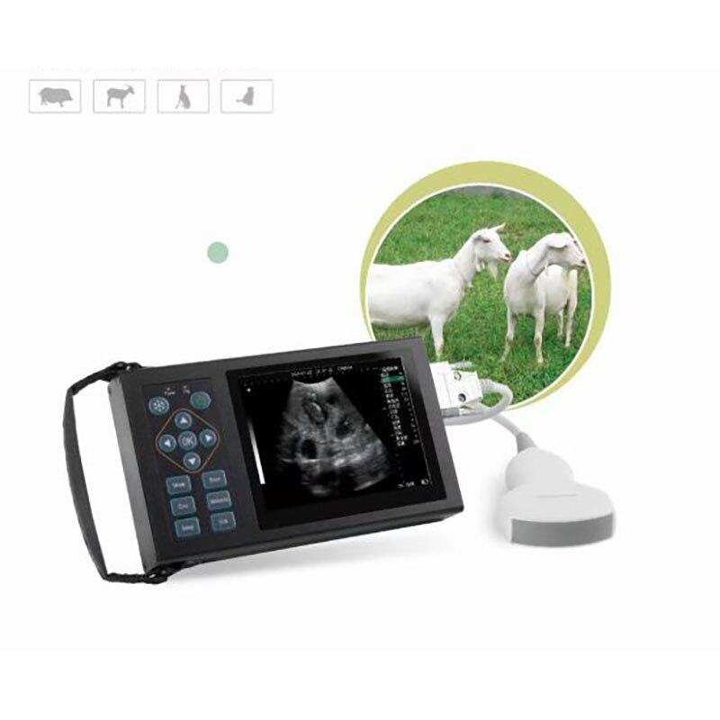 جهاز أشعة محمول للتشخيص بالأشعة فوق الصوتية للحيوانات الميكانيكية مروحة المسح بالموجات فوق الصوتية أداة التشخيص ، نسخة التكوين العالي ne