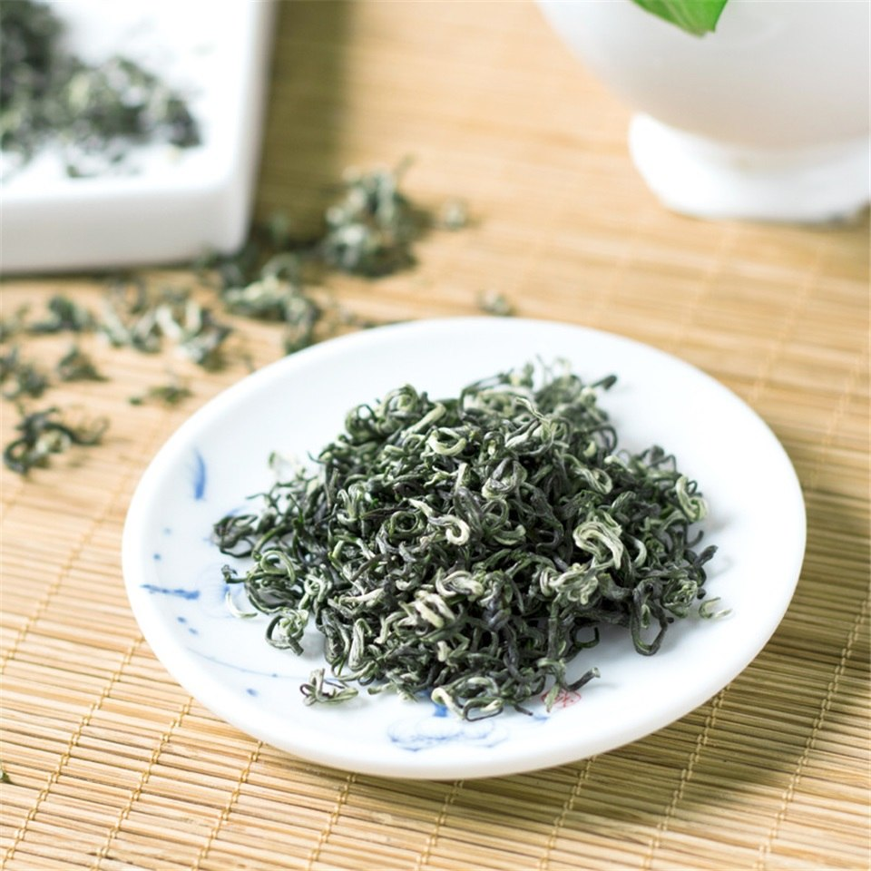 2020 chá verde chinês orgânico chinês do chá verde da mola bom para o emagrecimento