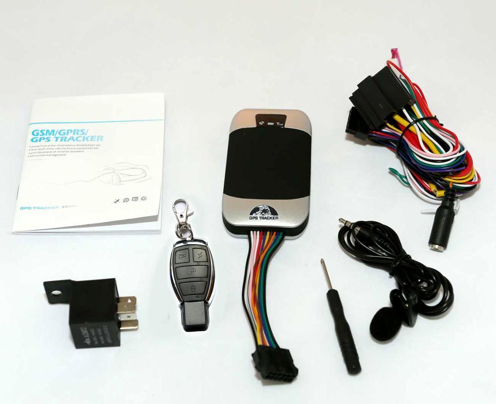 Устройство слежения за транспортными средствами GPS303G, четырехдиапазонный GPS GSM GPRS трекер в реальном времени, Google maps, бесплатные услуги веб-платформы