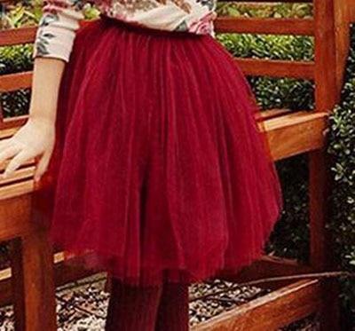 12M-10Y faldas tutú para niñas pequeñas mullidas vestido de baile Pettiskirts colorido falda tutú infantil chica princesa baile fiesta falda