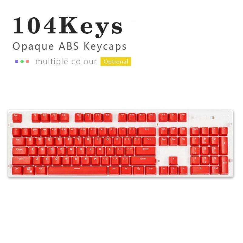 Механическая клавиатура 104 Doubleshot ABS Клавиша клавиатуры s пустые клавиши s для Cherry MX механическая клавиатура переключатели клавиатуры