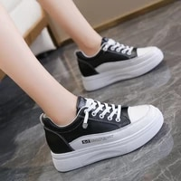 inner increased small white shoes autumn 2021 new thick soled increased breathable shallow mouth student womens shoes