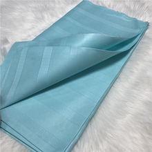 Tissu ATIKU 10 Yards   Nouveau design africain atiku pour hommes, tissu de couleur pure nigérienne pour hommes, vêtement AT30