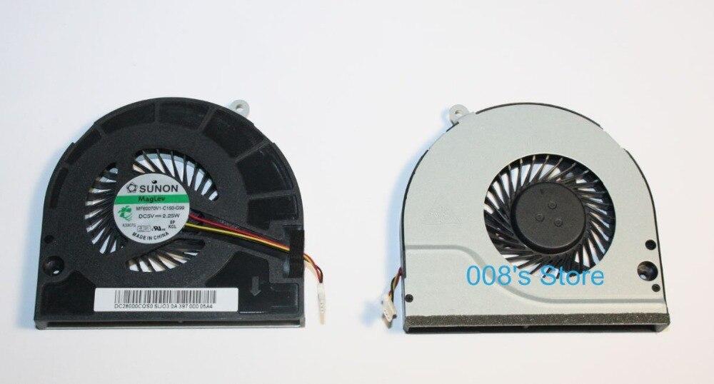 Nueva computadora portátil CPU ventilador para Acer E1-532 E1-570 E1-572 E1-572G E1-572P E1-572PG V5-561 561G 561P 561PG MF60070V1-C10-G99 2,25 W