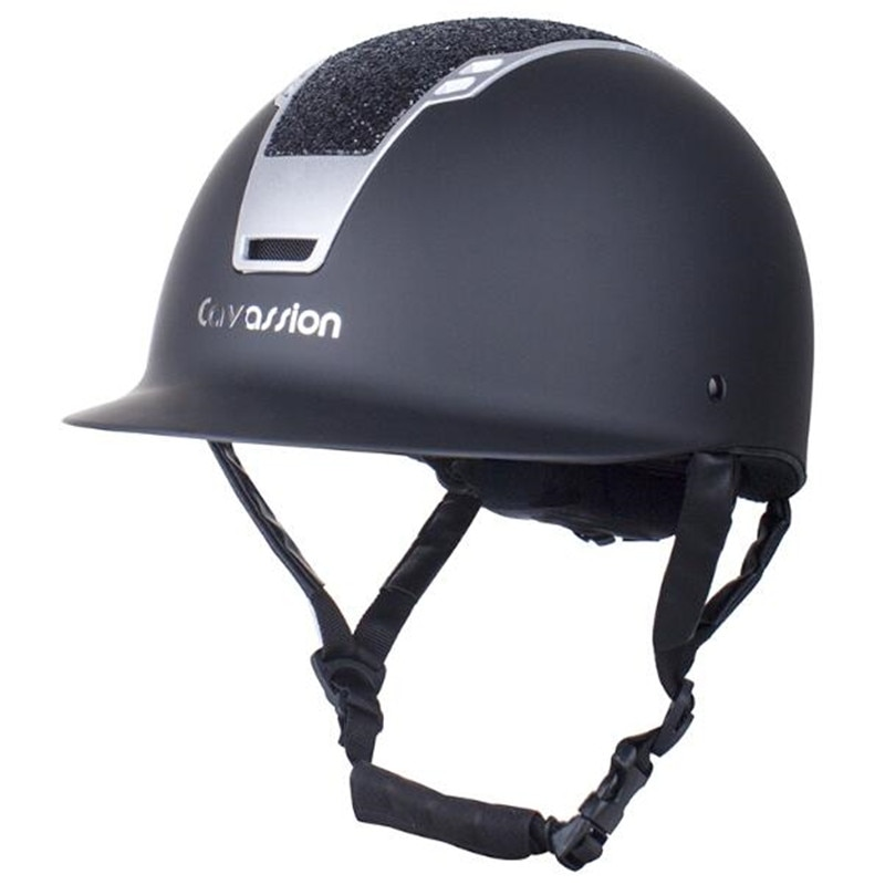 Cavassion Professional Horse Riding Helmet Horse Equepment Brilliant Type Helmet Multifunction Comfortable Protective Saddlery