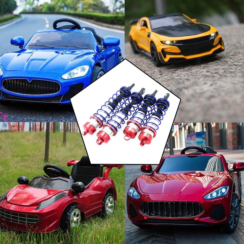 4 шт. автомобильные запчасти, амортизатор 1/8 Rc автомобильные запчасти, металлический масляный регулируемый амортизатор давления, аксессуар...