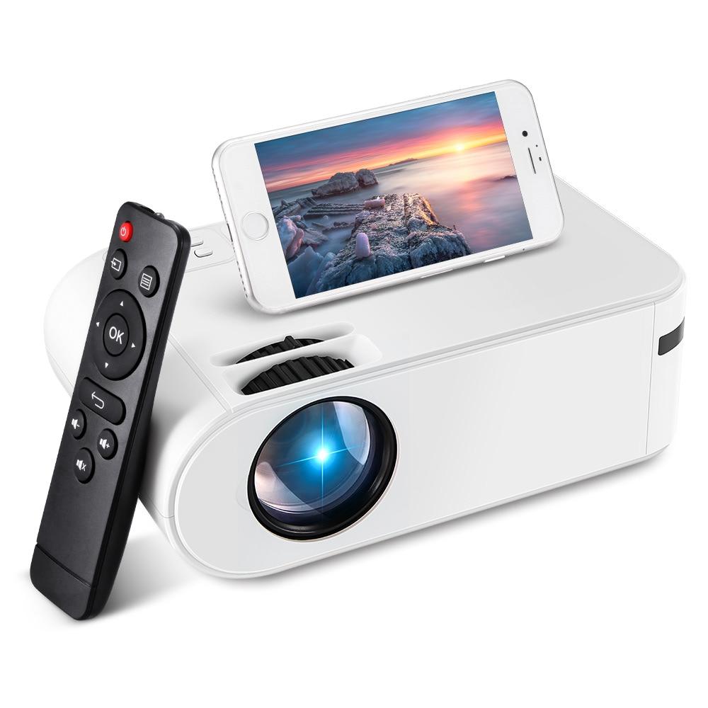 مايكرو العارض 720P نفس الشاشة 3000 لومينز LED عارض فيديو فيلم العارض اختياري الهاتف المحمول النسخ المتطابق كامل HD 1080P