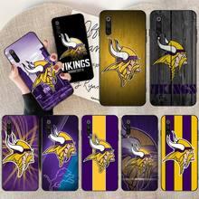 CUTEWANAN Minnesota Vikings Custom Photo Soft Phone Case for Redmi Note 8 8A 7 6 6A 5 5A 4 4X 4A Go Pro Plus Prime