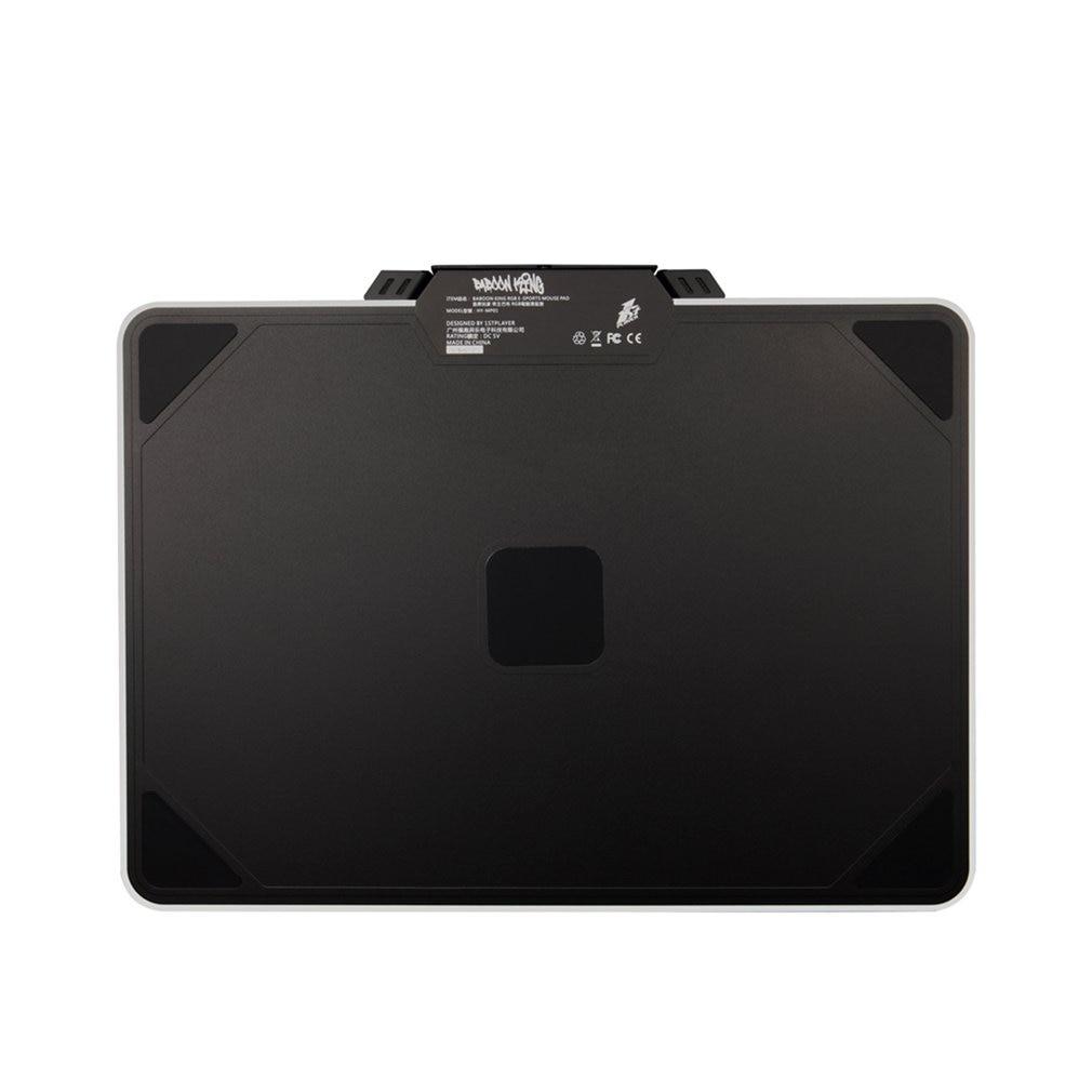 1STPLAYER Colorful RGB LED Lighting Mousepad Anti-Slip Laptop PC Mice Pad Mat For Optical Laser Mouse Gaming Mouse Mat Free Ship