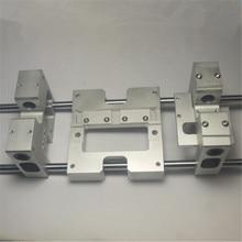 3D printer onderdelen Aluminium X axis metal Extruder Vervoer y-as vervoer kit Voor CTC Replicator Flashforge Upgrade Voor 8MM as