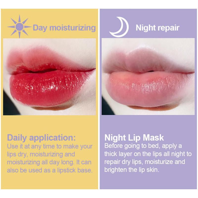 Propolis Moisturizing Honey Lip Mask Lip Balm Nourishing Anti-wrinkle Lip Care~~