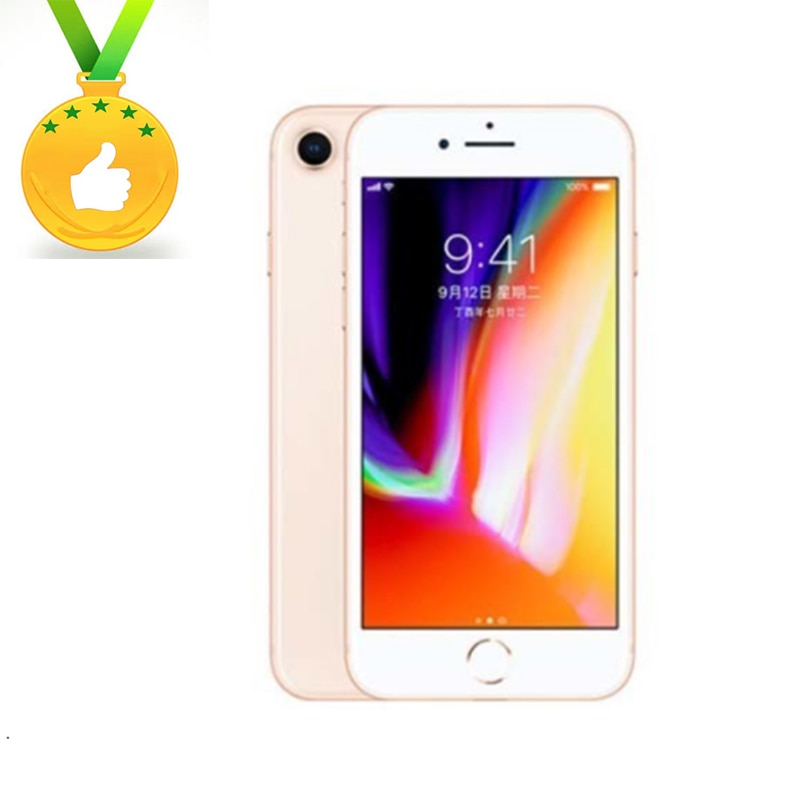 Apple Store Global Version Original iPhone8 2GB RAM 64GB Hexa-core 3D Touch ID 12.0MP Camera 4.7