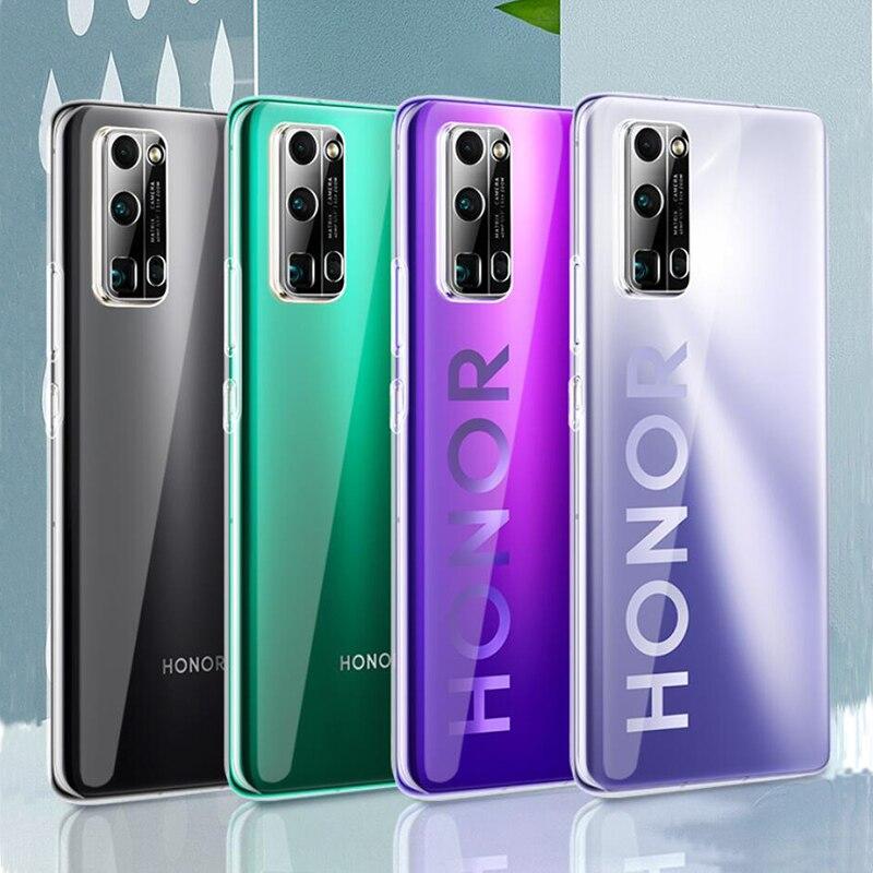 Para Huawei Honor 30 Pro funda transparente de silicona suave de alta calidad TPU claro a prueba de golpes para Honor 30 Pro funda de teléfono