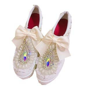 Thick-soled shoes high-heeled shoes sweet and lovely girl Vintage Sweet Lolita Shoes Bowknot Princess Kawaii Girl Women Shoes