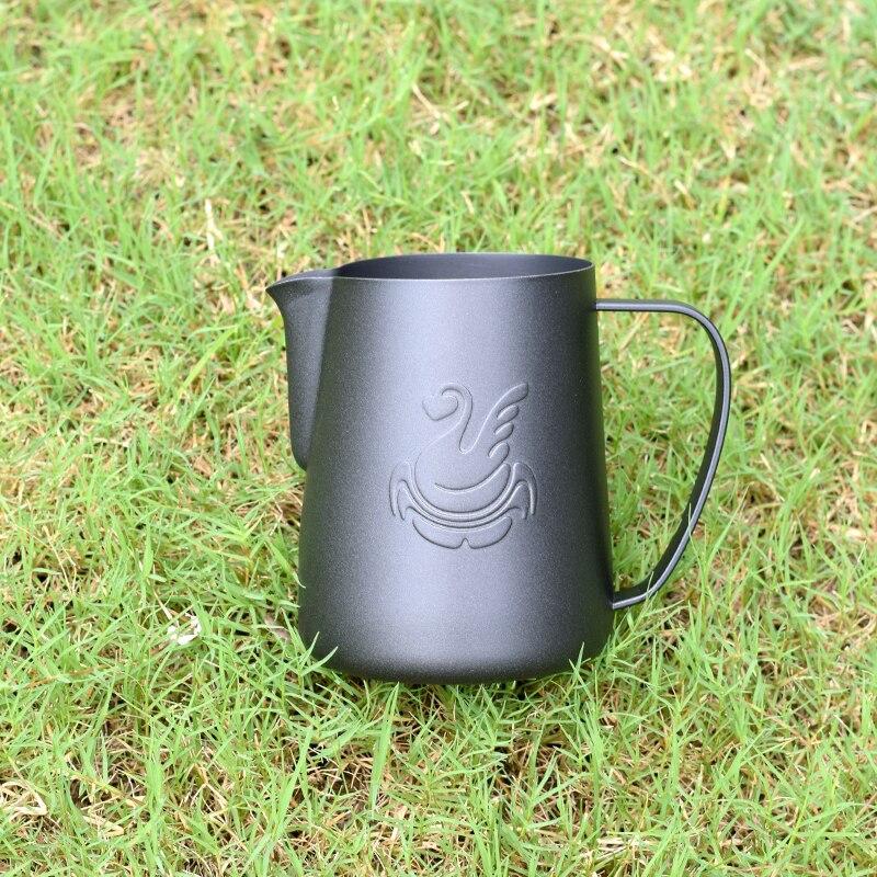 Swan Kitchen Stainless Steel Milk frothing jug Espresso Coffee Pitcher Barista Craft Coffee Latte Milk Frothing Jug600ml