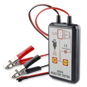 Image 2 - 1 комплект тестер автомобильного топливного инжектора EM276 инструмент для сканирования топливной системы инжектор анализатор автомобиля инструменты для диагностики автомобиля с 4 импульсными режимами