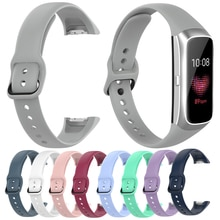 Essidi 2021 Soft Silicone Strap For Samsung Galaxy Fit R370 Sports Smart Bracelet Band Replacement F