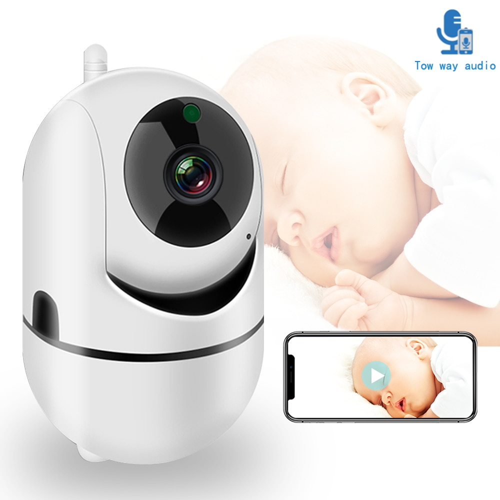WiFi Baby Monitor With Camera 1080P HD Video Baby Sleeping Nanny Cam Two Way Audio Night Vision Home Security Babyphone Camera