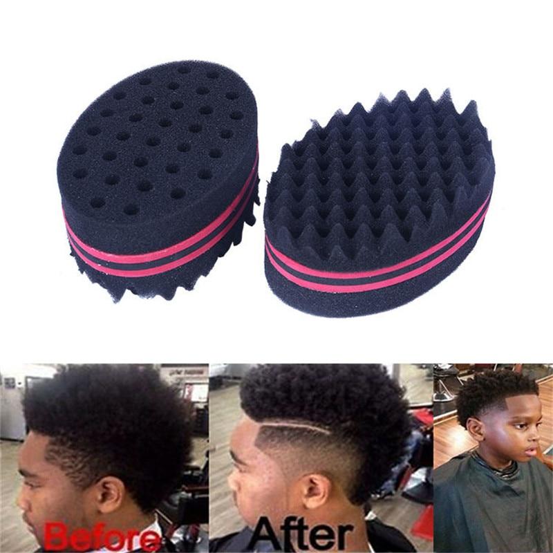 2019 de moda Cool Wave cabello giro esponja Curl pincel de esponja profesional teme torsión cerraduras rastas de peluquería pelo trenzado