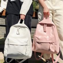 Mode femmes Sac à Dos en cuir femme Sac décole sacs à Dos pour Teengers Gilrs Style Preppy grand Pu voyage Sac à Dos Sac A Dos