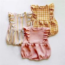 Newborn Baby Bodysuit Children Clothing Twins Fashion Little Girls Clothes Jumpsuit Girls Clothing S