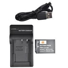 Batterie de caméra DSTE KLIC-7003 avec chargeur USB pour caméra KODAK EasyShare V1003 V803 GE-E1030 GE-E1240 GE-E1250TW