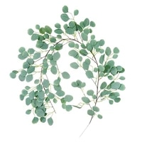 artificial eucalyptus vine fake plants garland hanging ivy for front door wedding arch garden background