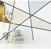 customized wallpaper mural 3d photo wallpaper nordic minimalist lines geometric texture personality tv background wall