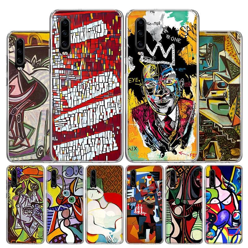 Pablo Picasso arte abstracto pintura funda del teléfono para Huawei P30 P40 P20 P10 Mate 30 20 10 P Smart Z Lite Pro Plus + 2019 cubierta Coq
