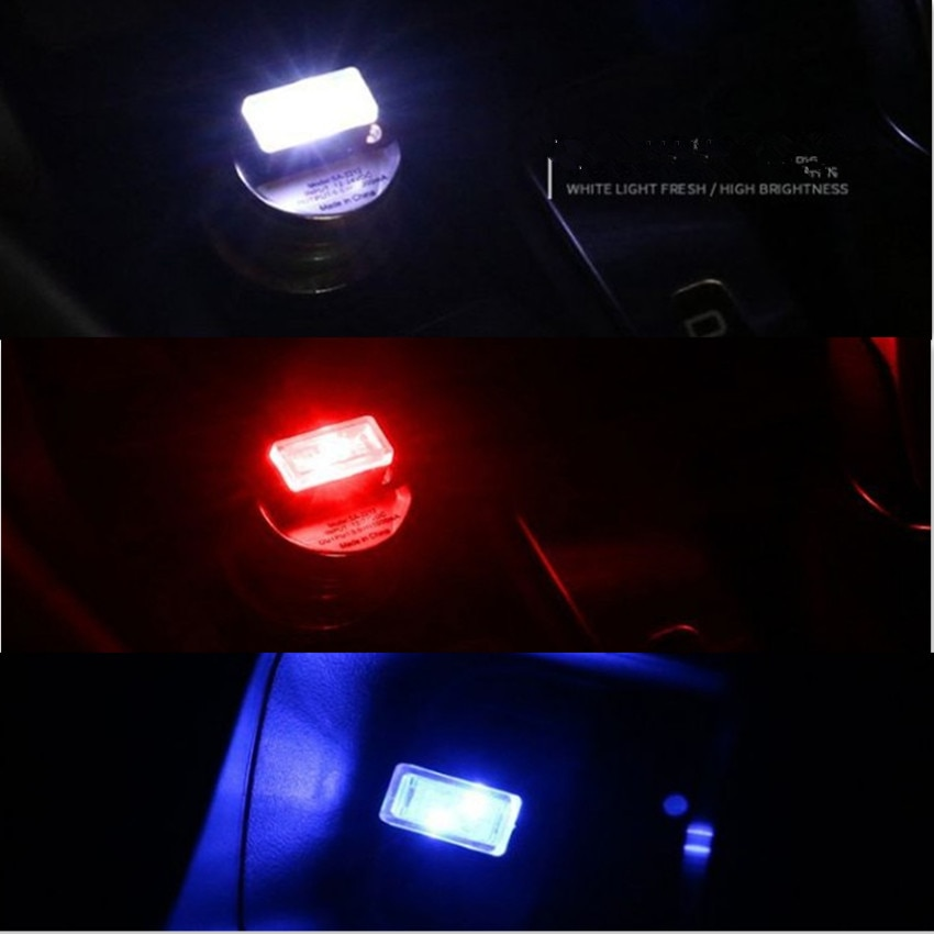 2021 Car LED Decorative Lamp USB Light FOR Ford Focus 2 3 1 Fiesta Mondeo MK4 MK 4 Transit Fusion Kuga Ranger Mustang Armrest
