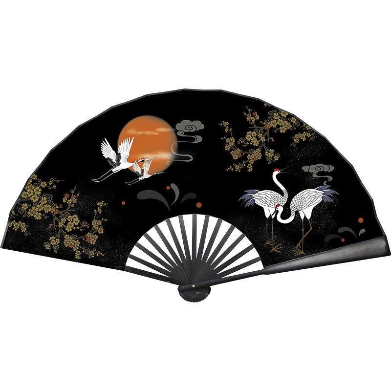 Ventilador plegable clásico Para hombre y mujer, abanico plegable de bambú, estilo...