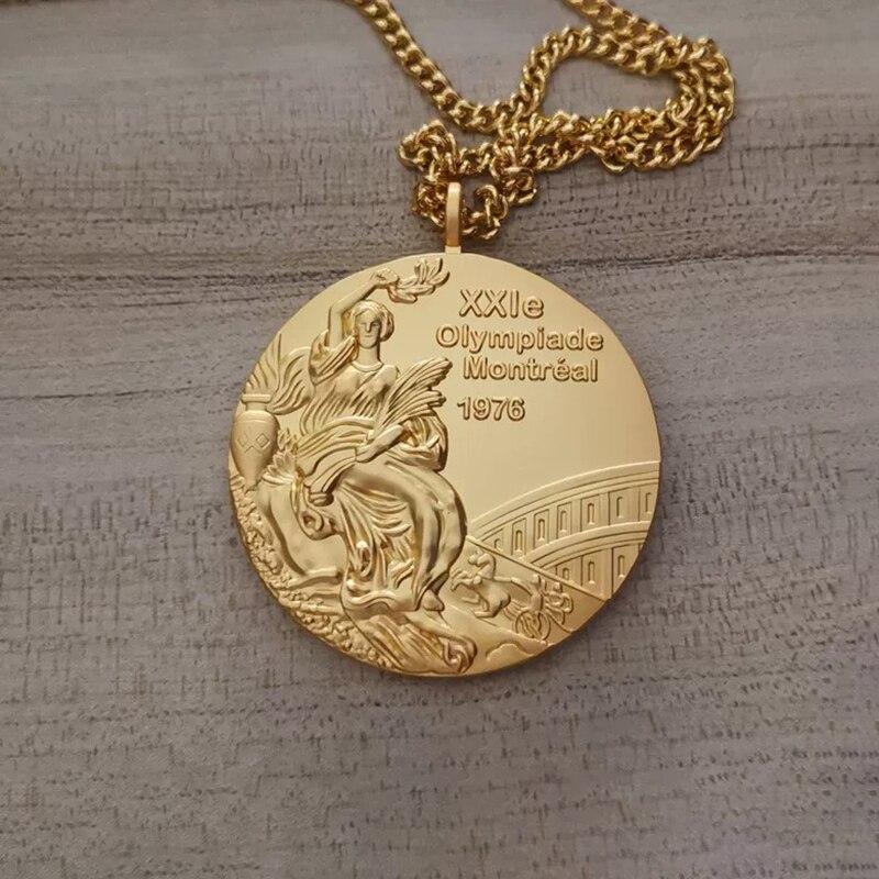 Ограниченная партия 1972, Монреаль, Монреаль, игровые медали, сувениры, металлический значок, золотая медаль, реплики, спортивные медали, суве...