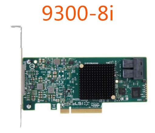 9300-8i 12 جيجابايت/ثانية بطاقة قناة HBA تدعم قرص واحد 8t حزمة عمل جديدة مضمونة لمدة ثلاث سنوات
