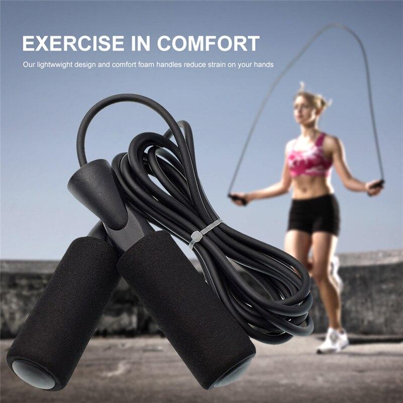 Moda 2020 cuerda de saltar de velocidad ajustable deportes ejercicio para perder peso gimnasio Fitness equipamiento de Crossfit