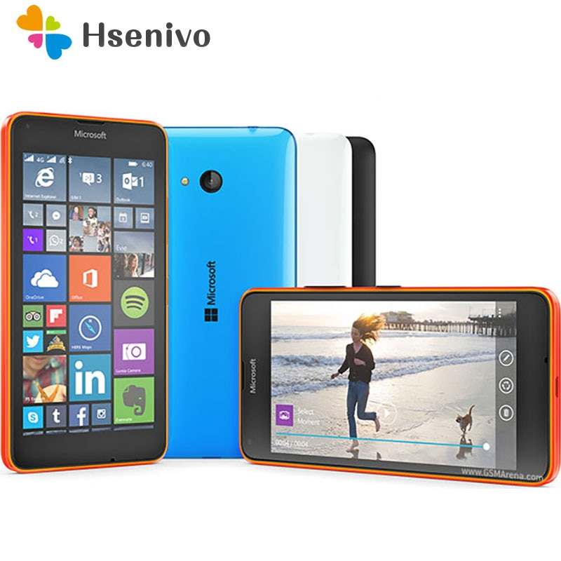 Nokia Lumia 640 reformado-Original Lumia 640 8MP Cámara Quad-core 8GB ROM 1GB...