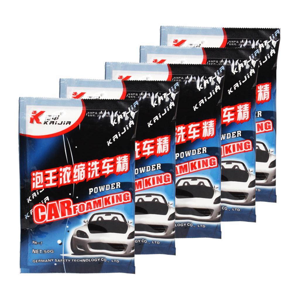 Dragonpad Car Wash Powder High Foam Car Wash Shampoo Concentrated Foam Car Wash Liquid Car Cleaning Supplies