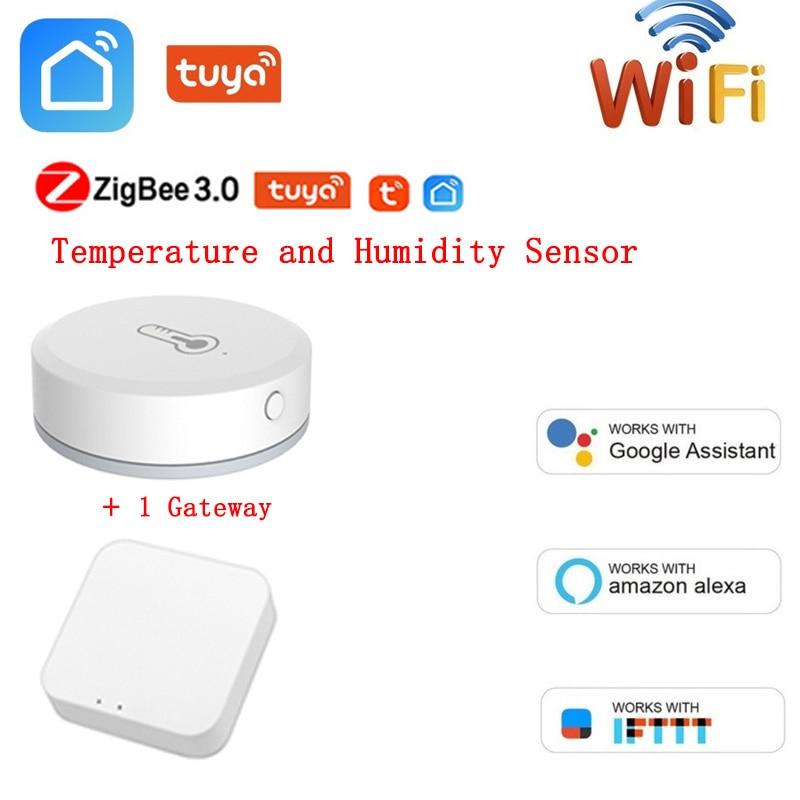 app Smart Air Pressure Temperature Humidity Environment Sensor Work With Tuya Smart Life App Alexa Google Home App Smart Temperature
