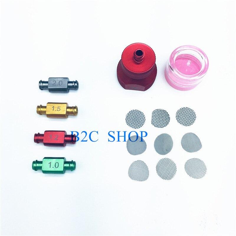 Kit de transferencia de grasa Nano 1set para liposucción de titanio