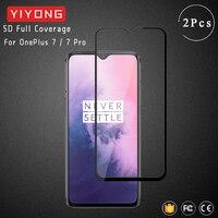 Закаленное стекло YIYONG 9D для OnePlus 7 T 8T 6 6T, защитная пленка для экрана OnePlus 8 Pro Nord One Plus 7 T Pro 3D, изогнутое стекло