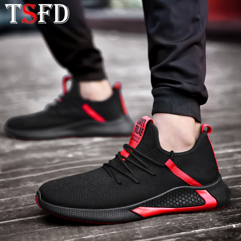 Breathable Man Casual Shoes Lace Up Sneakers Men Shoes Summer Low Top Shoes Fashion Walking Footwear 2020 Zapatos De Hombre S13
