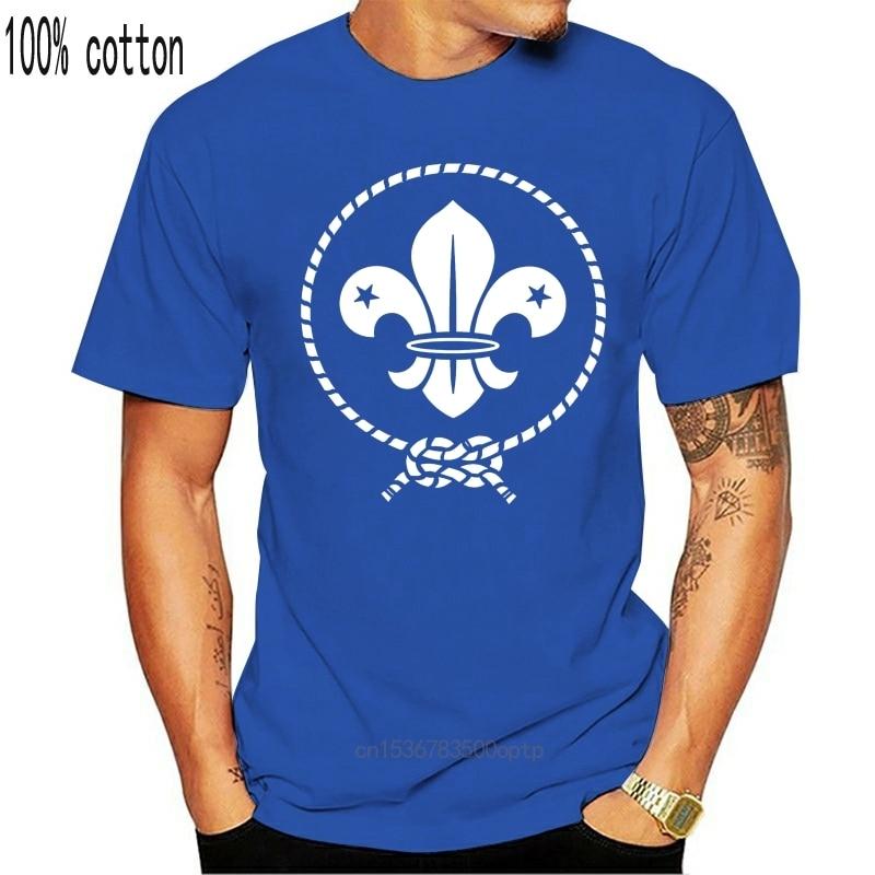 New Men's boy scout word t shirt Custom Short Sleeve plus size 3xl Family Famous Comical Spring Autumn Novelty shirt