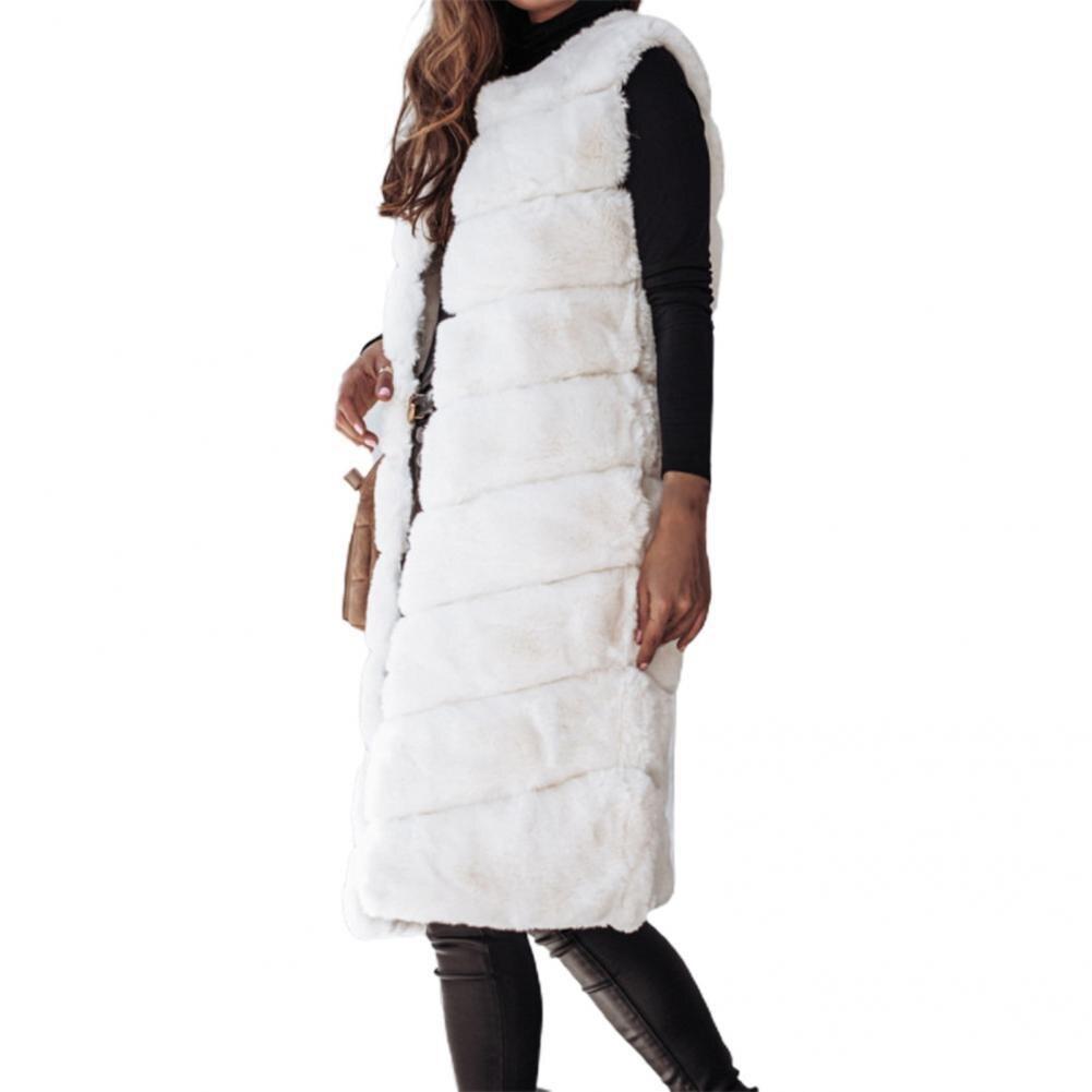 Теплый кардиган, жилет без рукавов, теплый ветрозащитный плотный жилет в горизонтальную полоску, женский жилет, жилет, пальто
