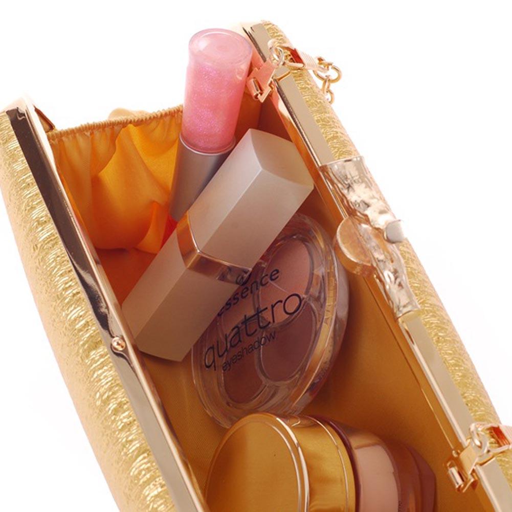 Nouvelle mode femmes pochette en cuir synthétique polyuréthane Simple motif décorce sac de soirée dîner fête sac à main sac à main épaule sac de messager SER88