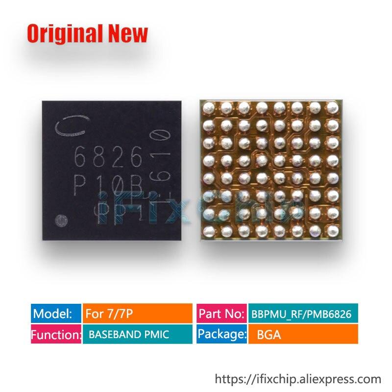 5pcs/lot BBPMU_RF/PMB6826 6826 for iphone 7plus/7/7 plus BASEBAND PMIC Power IC Chip