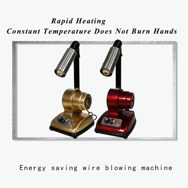 Shoes with Bench Blowing Machine Drying Machine Energy Saving Adjustable Temperature Leather Bag Blowing Head Hot Air Gun
