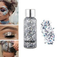 Eyeshadow Glitter Nail Hair Body glitter body gel Art Flash Heart Loose Sequins Cream Decoration Par