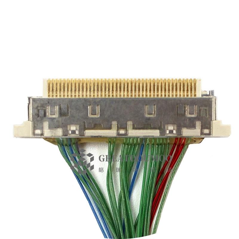 LVDS кабель для ЖК панели поддержка DQ77KB Mini-ITX материнская плата с 40 pin ipex Разъем 6 бит ЖК-экран