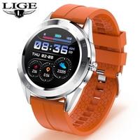 Новый IP68 Водонепроницаемый Смарт-часы для мужчин сердечного ритма крови Давление отвечать на телефонные звонки, многофункциональные спорт...