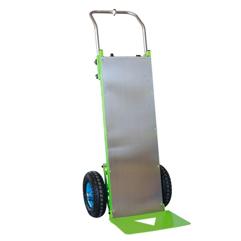 عربة الأدوات جهاز تسلق سلم الكهربائية الحاملة صعودا وهبوطا تسلق قطعة أثرية الأجهزة تتحرك تحميل 100 كجم-150 كجم