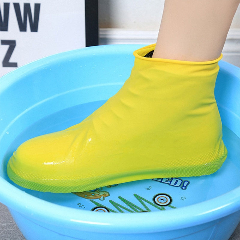 AliExpress - Waterproof Non-slip Rain Boots Reusable Silicone Shoe Cover Outdoor Travel Camping Hiking Fshing Righ Tube Wear Shoe Cover